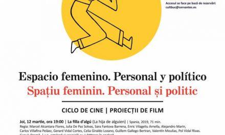 Cinema feminin, în martie, la Institutul Cervantes din București