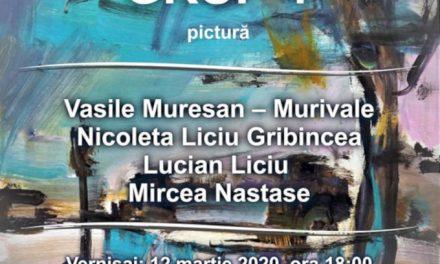 """Expoziția de pictură """"Grup 4"""" @ Galeria de Arte din Hunedoara"""