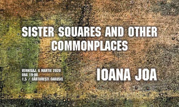 """Expoziție Ioana Joa """"Sister Squares and Other Commonplaces"""" @ Cărturești Carusel, București"""