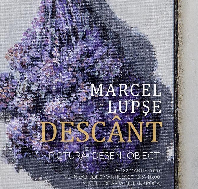 Expoziție Marcel Lupșe. Descânt –Pictură / desen / obiect @ Muzeul de Artă Cluj-Napoca