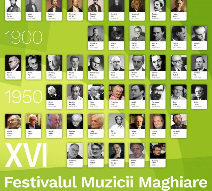 Festivalul Muzicii Maghiare, ediția a XVI-a, 2020