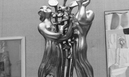 Sculptorița Ioana Kasargian