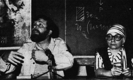 Lucian Pintilie și Wanda Mihuleac, expoziția Scrierea, 1980