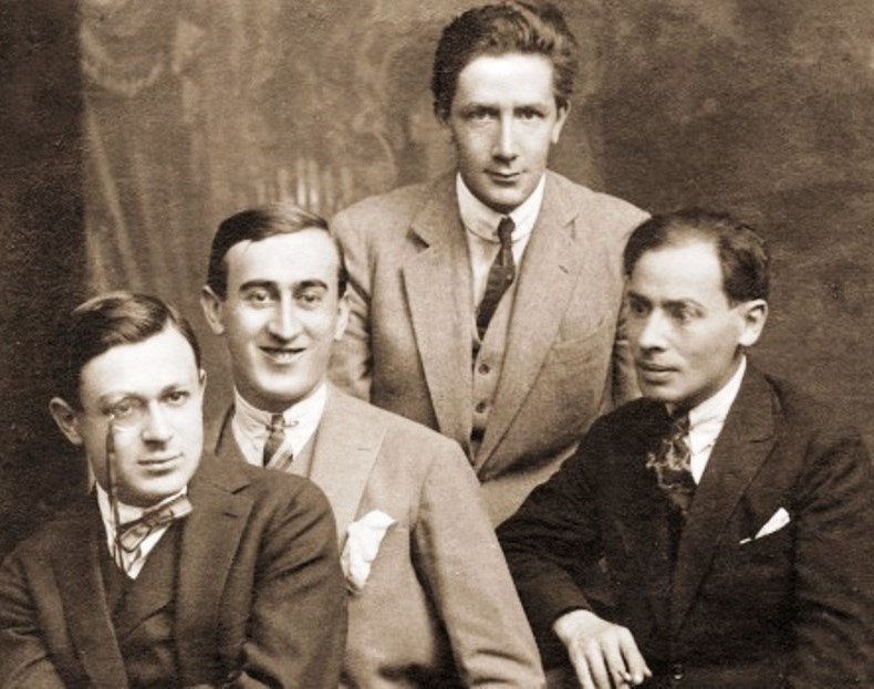Tristan Tzara, M. H. Maxy, Ion Vinea, Jacques G. Costin