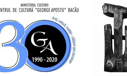 """30 de ani de la înființarea Centrului de Cultură """"George Apostu"""" din Bacău"""