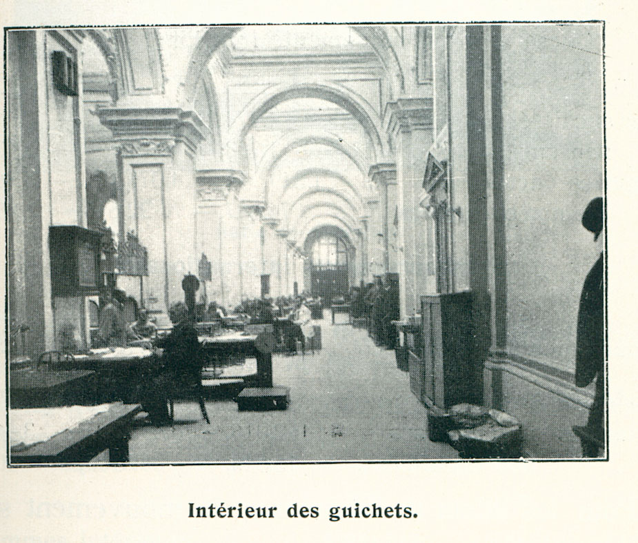 8. Palatul postelor-sala ghiseelor-1906
