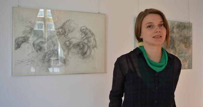 Artist talk de luni: Andrea Nagy