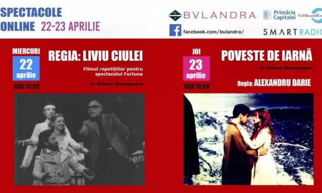Teatrul Bulandra celebrează online Săptămâna Shakespeare!