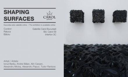 "Expoziția online ""Shaping Surfaces"" @ Galeriile Carol"