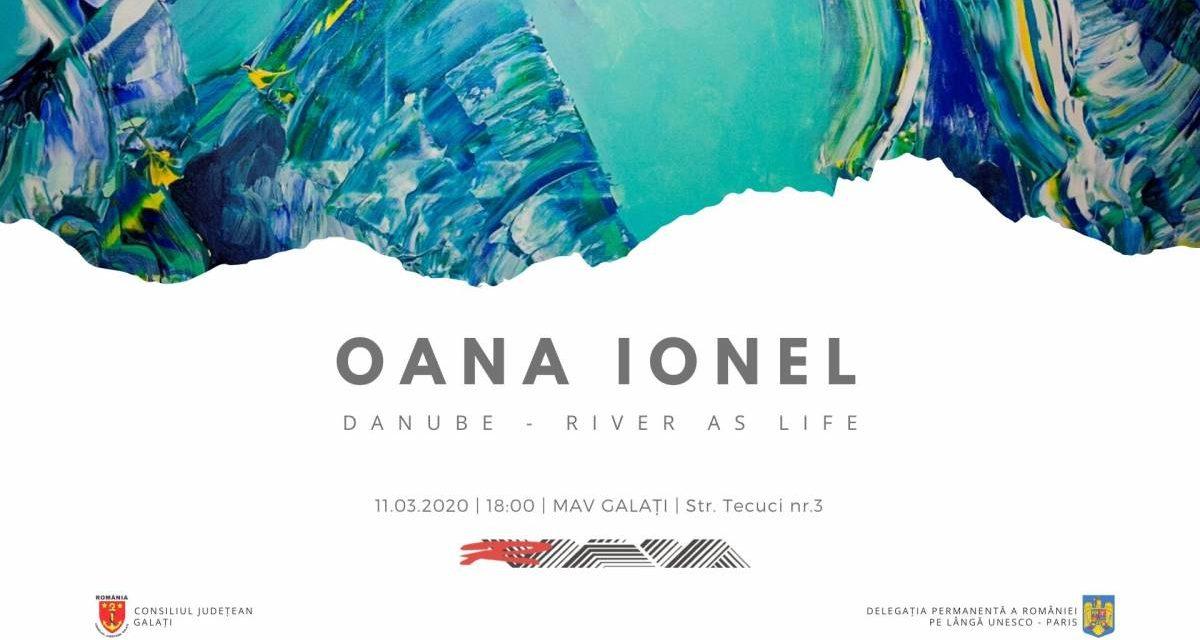 """Expoziție Oana Ionel """"Danube – River as Life"""" (Dunărea – râul ca viață) @ Muzeul de Artă Vizuală Galați"""