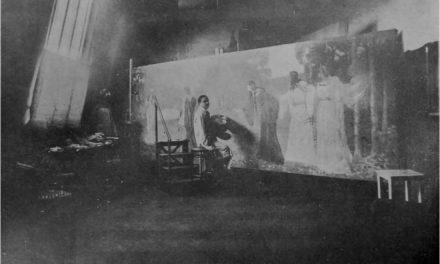 Kimon Loghi în atelier, 1914