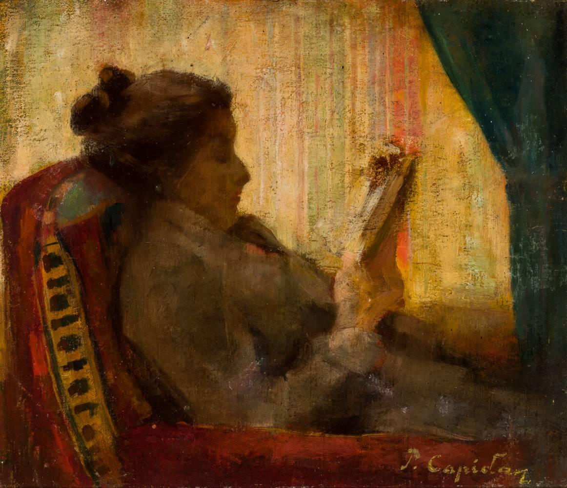 Pericle CAPIDAN Lectură la fereastră