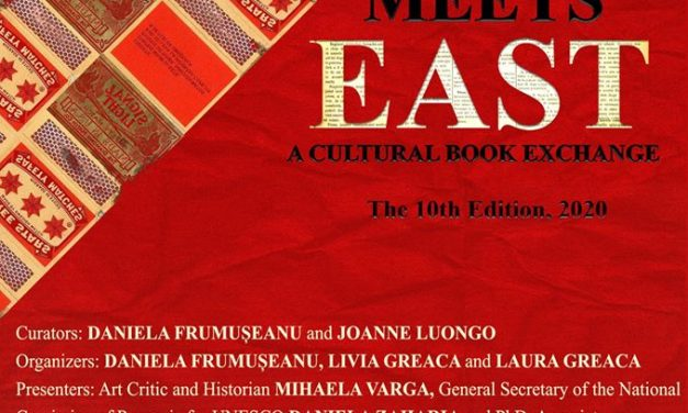 Mihaela Mihalache în expoziția WEST MEETS EAST-A CULTURAL BOOK EXCHANGE, ediţia a X-a, 2020