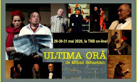 TNB on-line: o nouă săptămână cu imagini alese din arhiva teatrului – reîntâlnire cu maeștrii Albulescu, Dinică, Moraru…