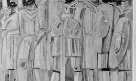 Pictorii Angela Popa Brădean și Traian Brădean, 1974