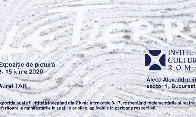 """Expoziție de pictură Aurel TAR """"gleTierra"""" @ Institutul Cultural Român, București"""