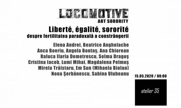 Liberté, égalité, sororité by Locomotive Art Sorority @ Atelier 35, București