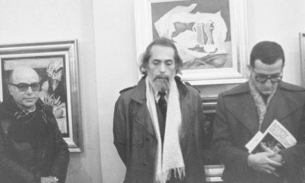 Constantin Albani, vernisaj, Galeria Simeza, București, 1988