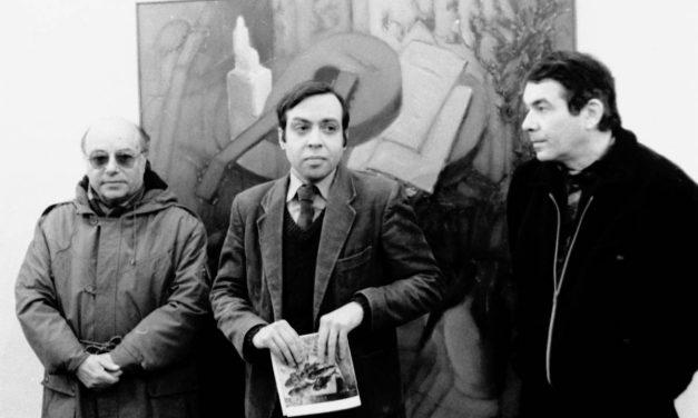 Vernisajul pictorului Dan Bota, Galeria Simeza, 1984