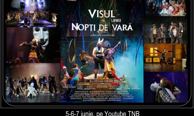 """TNB on-line, cu 3 conferințe și cea mai erotică piesă shakespeariană, """"Visul unei nopți de vară"""""""