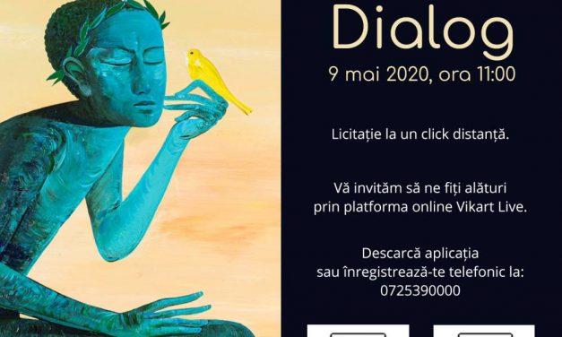 Licitația de Artă – Dialog Casa de Licitații Vikart, București
