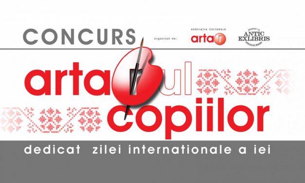"""Concurs online """"ARTARul copiilor 2020 – Ziua internațională a iei"""""""