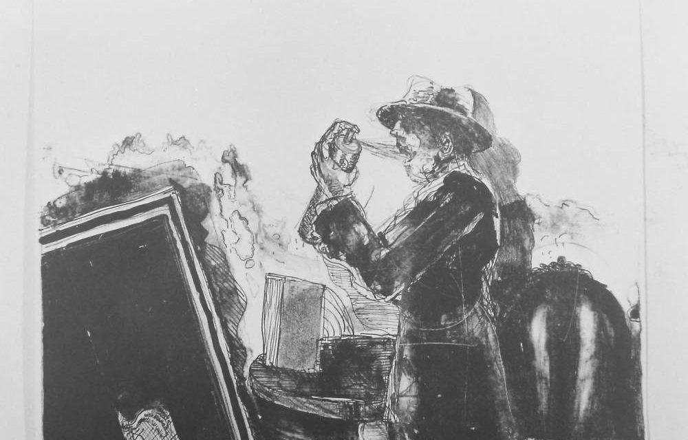 Graficianul Aurel Bulacu, 1976