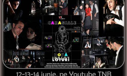 Încă o săptămână pe Youtube TNB! 3 conferințe și un spectacol regizat de Alexandru Dabija, DOUĂ LOTURI