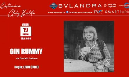 "Săptămâna Clody Bertola online la Teatrul ""Bulandra""!"