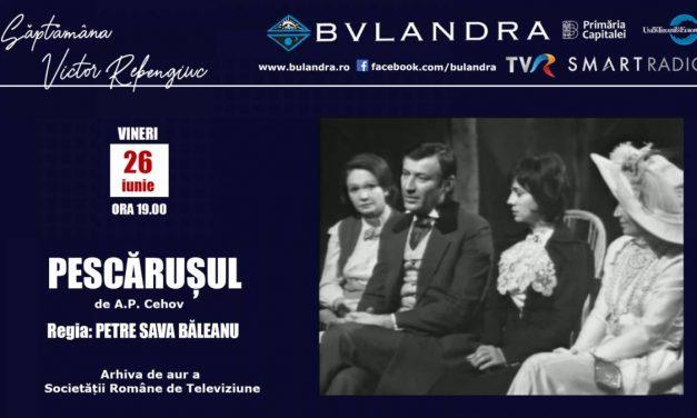 "Săptămâna Victor Rebengiuc online la Teatrul ""Bulandra""!"