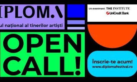 DIPLOMA 2020, festivalul tinerilor artiști, a dat startul înscrierilor!