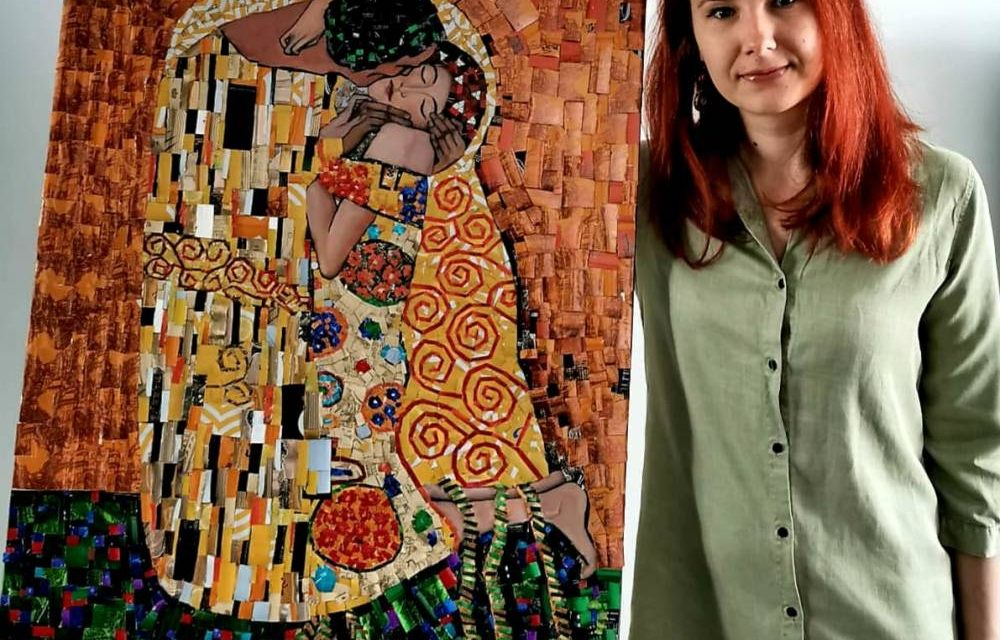 Poem Dadaist, Sărutul (Gustav Klimt), potretul lui Salvador Dali, printre cele mai apreciate tablouri realizate din doze de aluminiu la Can Art&Design Festival 2020