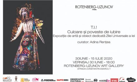 """ExpoziţieTeli Iacşa (Teofilia Juravle) """"Culoareși poveste de iubire"""" @ Rotenberg-Uzunov Art Gallery, București"""