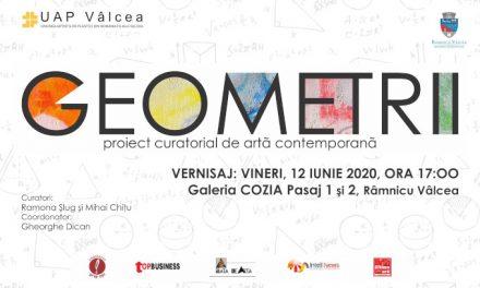 """Expoziția """"Geometrii"""" @ Galeriile Cozia Pasaj 1 și 2, Vâlcea"""
