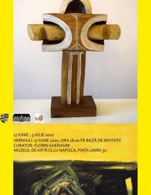 Expoziția DIALOG ÎNTRE PENSULĂ ȘI DALTĂ Mircea POPIȚIU (pictură) – Ioan ȘEU (sculptură) @ Muzeul de Artă Cluj-Napoca