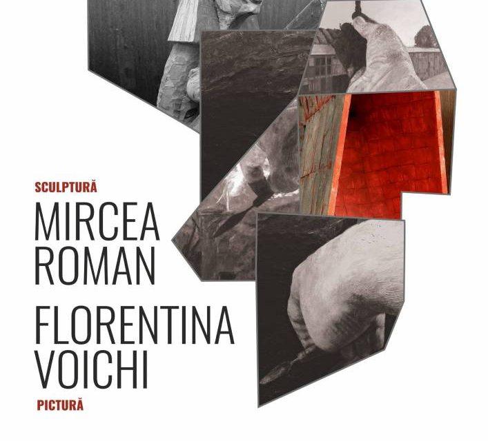 Expoziția de sculptură și pictură Mircea Roman și Florentina Voichi @ Galeria de artă DANA, Iași