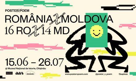 POSTER X POEM are prima expoziție internațională la Chișinău