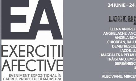 """Expoziție """"Măiastra. EA – exerciții afective"""" @ Galateca, București"""