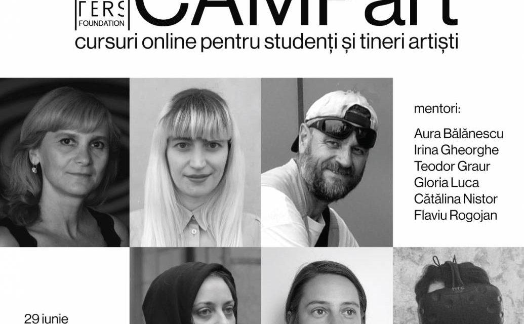 Mentorat online cu artiști de excepție, în premieră la Art Encounters