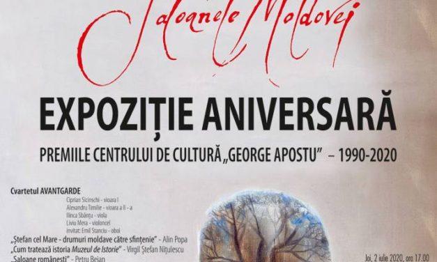 """Saloanele Moldovei – Expoziție Aniversară – Premiile Centrului de Cultură """"George Apostu"""" 1990-2020"""