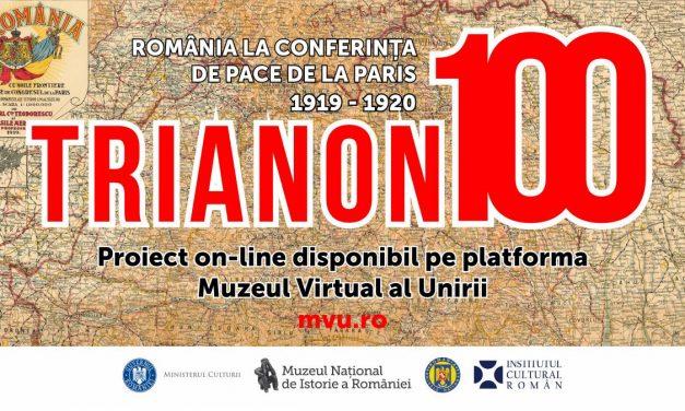 Trianon 100. România la Conferința de Pace de la Paris – expoziție și proiect online la Muzeul Național de Istorie a României