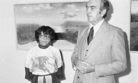 Vernisaj Wanda Mihuleac @ Muzeul Colecțiilor de Artă, 1980