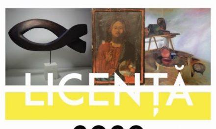 """Expoziție de Arte Vizuale """"ABSOLVENTUL"""", promoția 2020, Galeria """"Arta"""" UAPR, Filiala Craiova"""