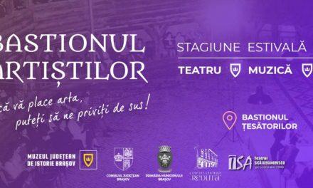 Program Bastionul Artistilor = Bastionul Țesătorilor de la Brașov