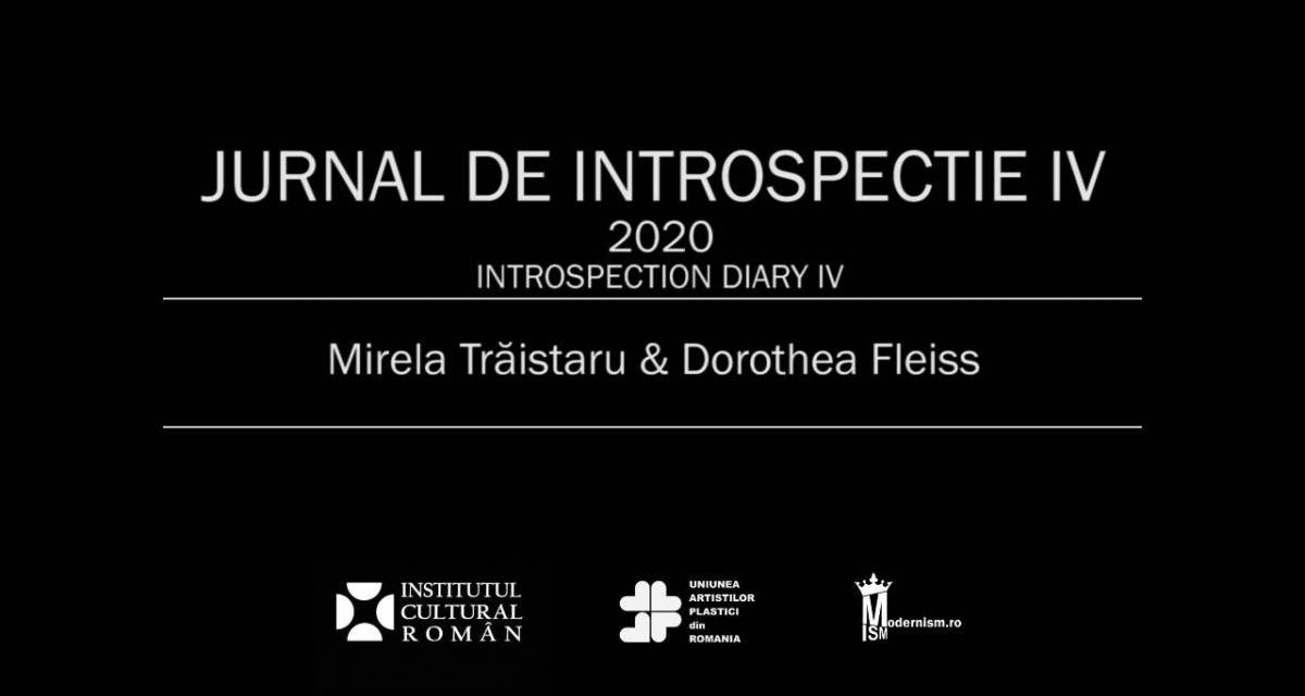 Jurnal de introspecție IV