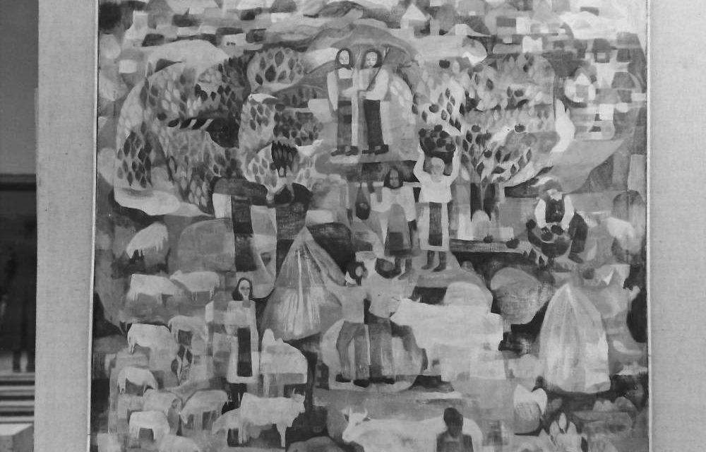 Pictorița Carmen Pătulea-Iancu, 1972