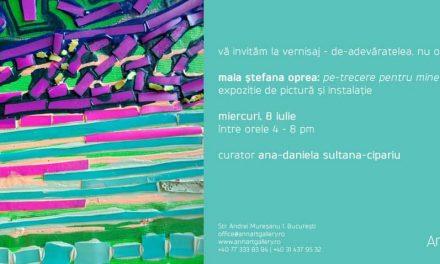 Pe-trecere pentru mine – Maia Ștefana Oprea @  AnnArt Gallery
