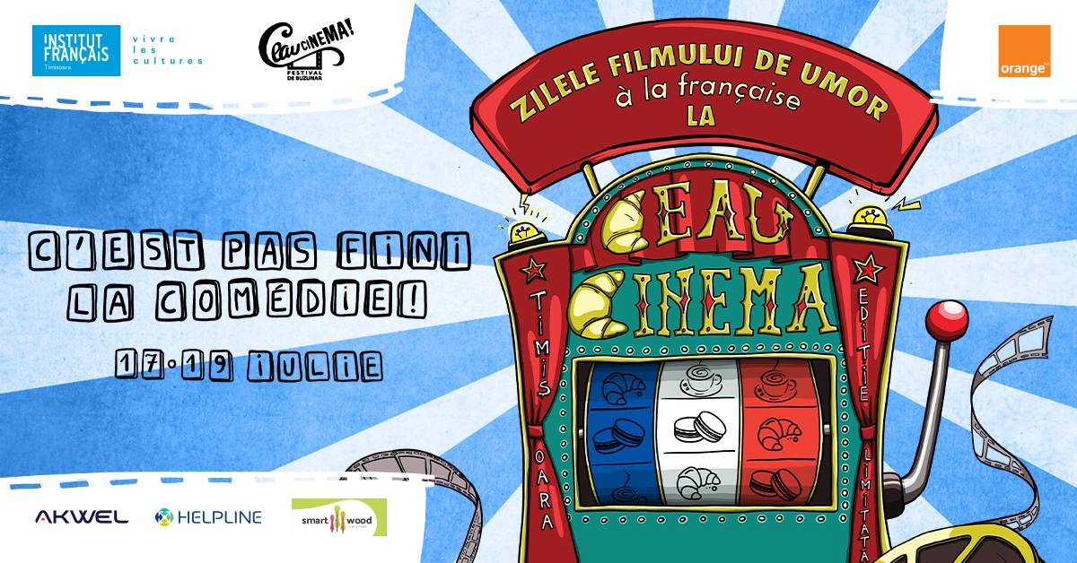 Zilele Filmului Francez de Umor la Ceau Cinema