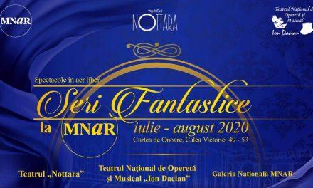 """""""Seri fantastice"""" la MNAR la finalul lunii iulie"""