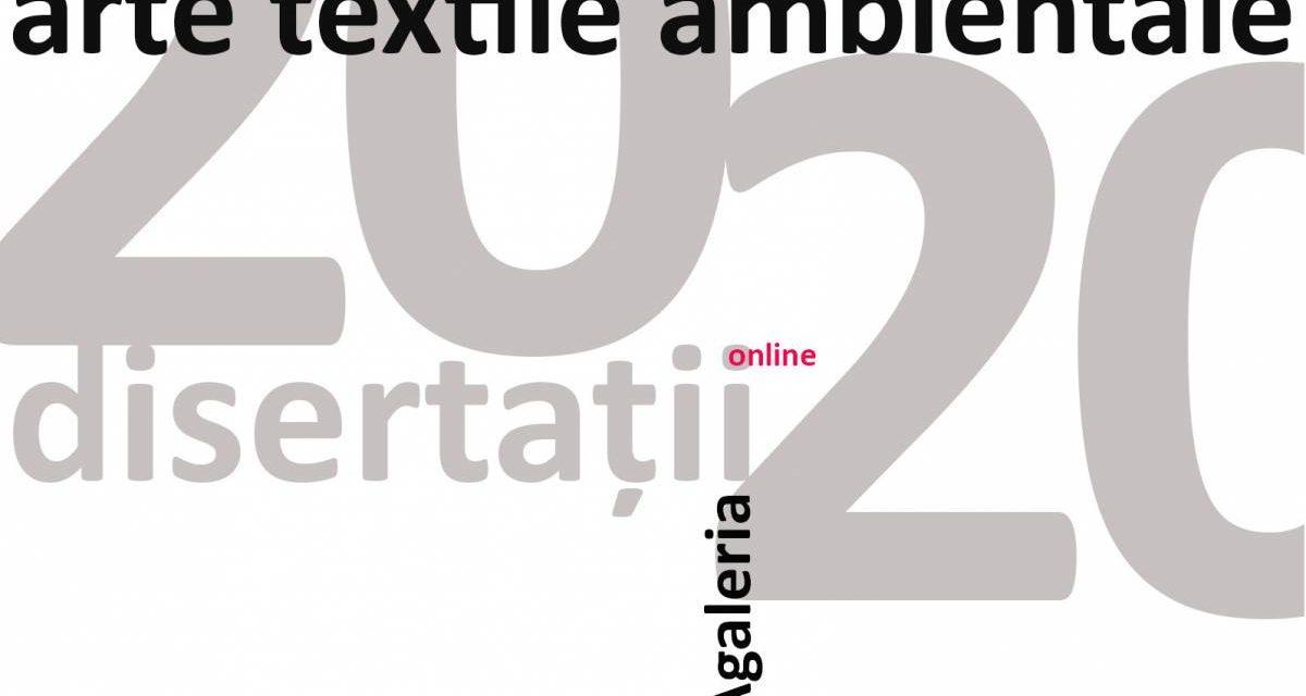Disertații Arte Textile Ambientale la UNAgaleria